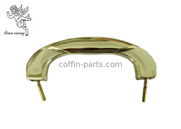 Pale Gold Plastic And Metal Casket Hardware , Wholesale Coffin Handles H9021